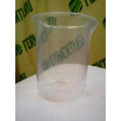 Мерный стакан 0,25 литр, полипропилен.
