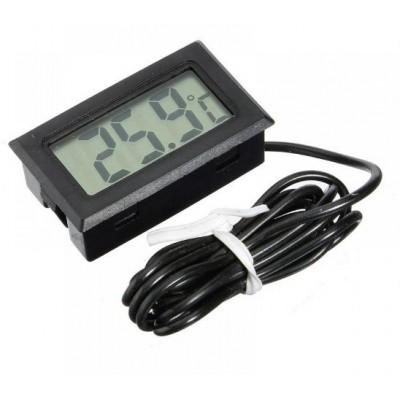 Купить Цифровой термометр с выносным датчиком, -50С +110С