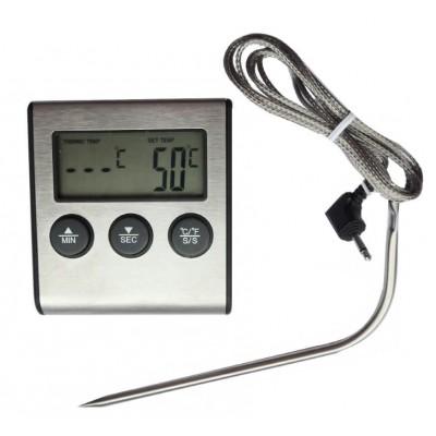 Купить Термометр с проводным термосенсором и звуковым оповещением ТР-700