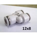 Тройник Y-образный для пневмошланга 12*8 мм