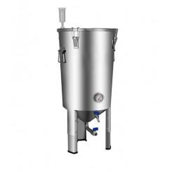ЦКТ Easy Brew из нержавеющей стали с краном для слива дрожжей, 32 л