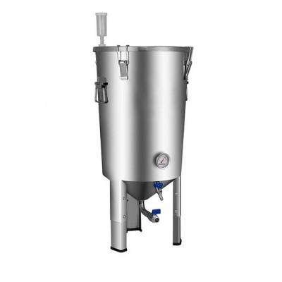 Купить ЦКТ Easy Brew из нержавеющей стали с краном для слива дрожжей, 32 л