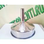 Воронка нержавеющая сталь AISI-304, 30 см