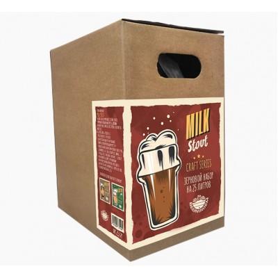 """Купить Зерновой набор """"Milk Stout"""" на 25 литра пива"""
